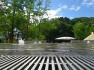 親水空間(水あそび場)の実施時期について