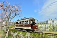 梅小路公園のチンチン電車の運行再開について