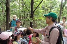 梅小路子ども自然観察会(5月~10月・全6回)のイメージ