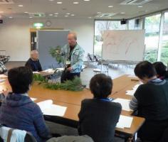 家庭の庭づくり講習会のイメージ