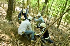 森林整備&アウトドア 「けむんぱアドベンチャー」のイメージ