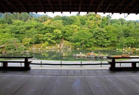 天龍寺庭園の画像