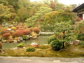 等持院庭園の画像