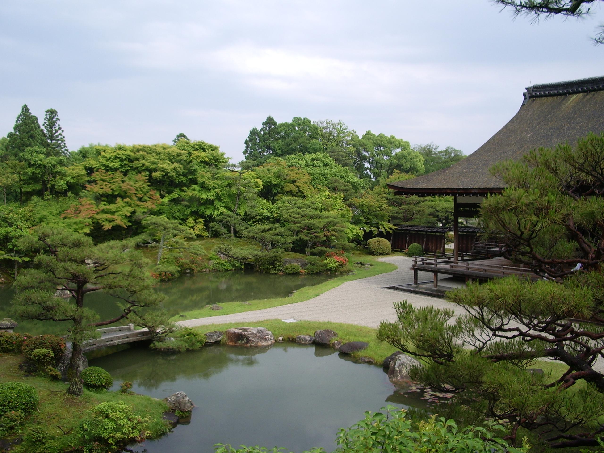 仁和寺庭園の画像