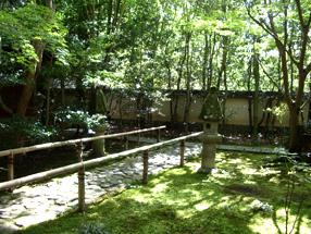 蓮華寺庭園の画像