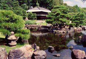 二条城 二の丸庭園、本丸庭園、清流園の画像